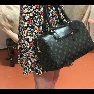 Black duffel style